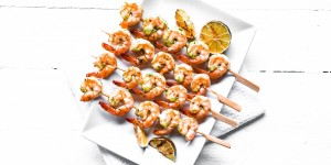Thai shrimp kebabs