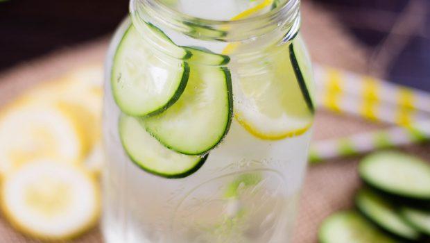 cucmber lemon water